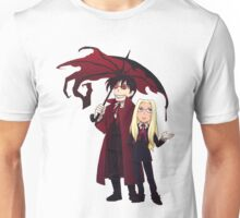 Hellsing and Alucard - Cartoon Style Unisex T-Shirt