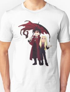 Hellsing and Alucard - Cartoon Style T-Shirt