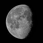 The Moon 78% Waning Gibbous July 8 2012 by Bill  Watson