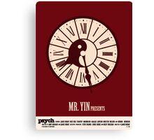 Psych - Mr. Yin Presents Canvas Print