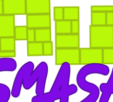 Häufi Smash Sticker