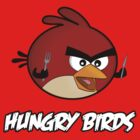 Hungry Birds - Angry Birds Parody: Little Red Bird by dalgius