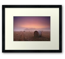 Purple Dawn Framed Print