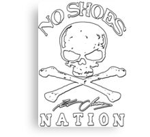 No Shoes Nation Kenny Chesney RBB01 Canvas Print