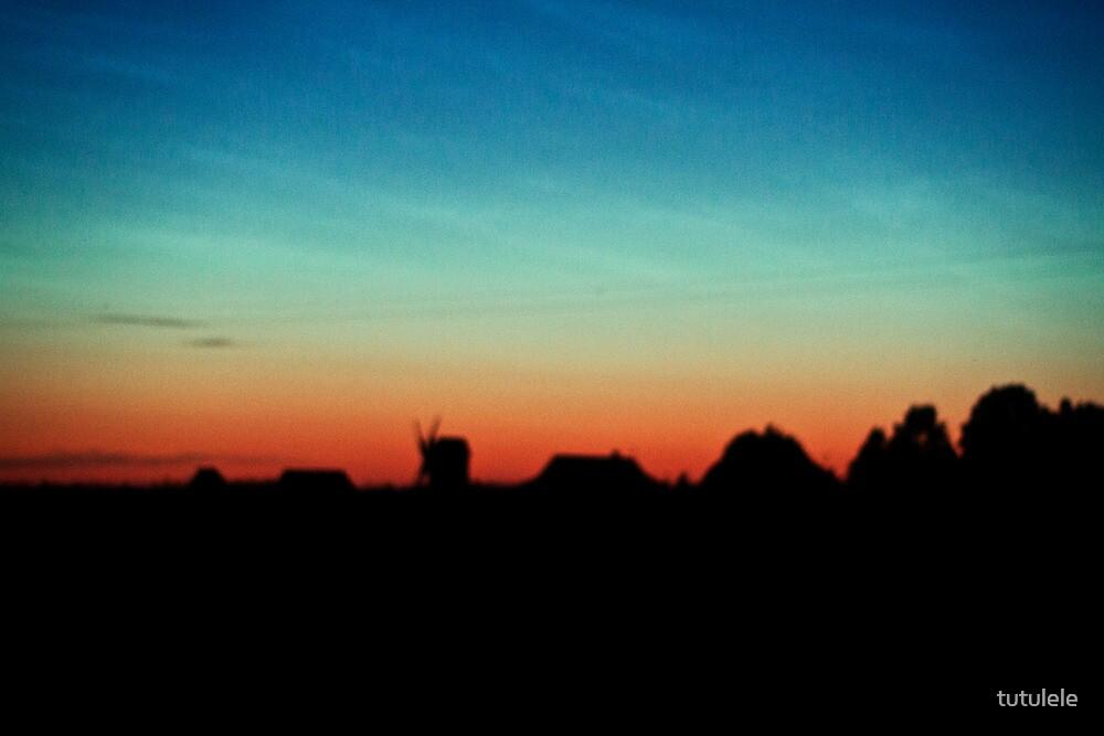 Sunset, Hiiumaa by tutulele