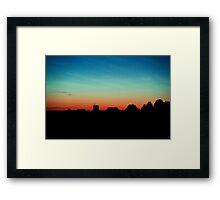 Sunset, Hiiumaa Framed Print