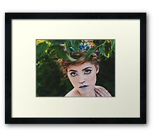 Fawn Shoot Framed Print