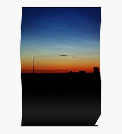 Hiiumaa, Sunset. Poster