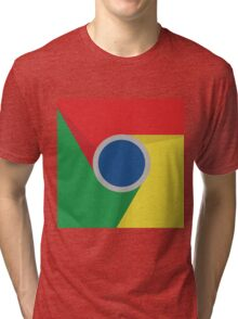 Google Chrome Logo Tri-blend T-Shirt
