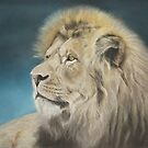 Lion painting by artbykarie-ann