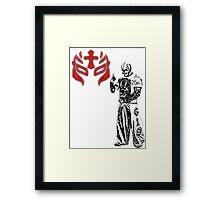 rey mysterio jr Framed Print