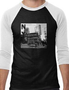 Katz Deli NYC Men's Baseball ¾ T-Shirt