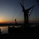 Thames Barge Maldon by Peter Tachauer