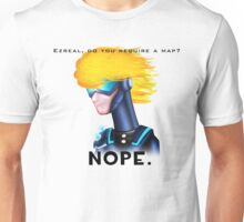 Ezreal, Do you require a map? Unisex T-Shirt