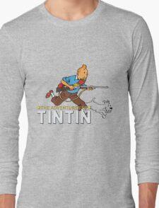 tintin adventures  Long Sleeve T-Shirt