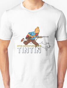 tintin adventures  Unisex T-Shirt