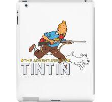 tintin adventures  iPad Case/Skin