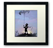 Bat Kid Framed Print