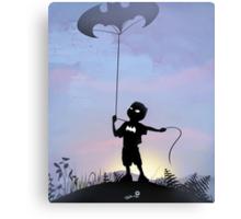 Bat Kid Canvas Print