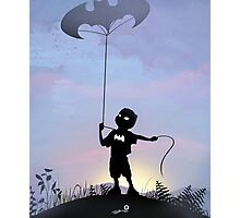 Bat Kid Photographic Print