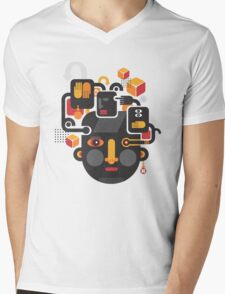 See no evil. Mens V-Neck T-Shirt