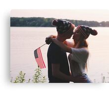 Fourth of July Shoot Canvas Print