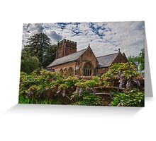 All Saints, Church, Somerset Greeting Card