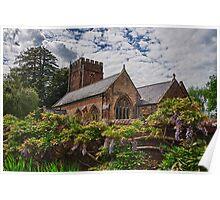 All Saints, Church, Somerset Poster