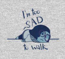 Too Sad to Walk One Piece - Long Sleeve