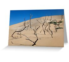 Shifting Dune Greeting Card