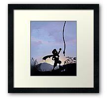 Super Kid Framed Print