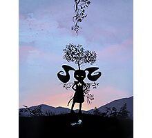 Poison Ivy Kid Photographic Print