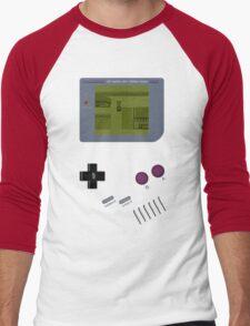 Pokemon Yellow Game Boy Men's Baseball ¾ T-Shirt