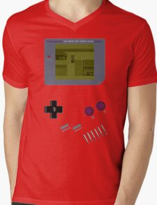 Pokemon Yellow Game Boy Mens V-Neck T-Shirt