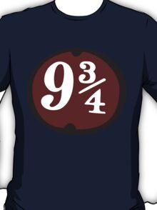 Harry Potter: Platform 9 3/4 T-Shirt