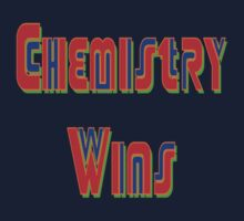 Chemistry Wins (faux neon) by PharrisArt