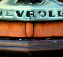 Front End Of 1953 Chevrolet 3600 Advantage Design Truck Sticker