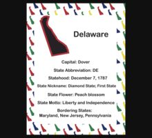 Delaware Information Educational Kids Clothes