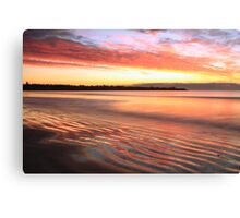 Before Sunrise at First Beach  Canvas Print