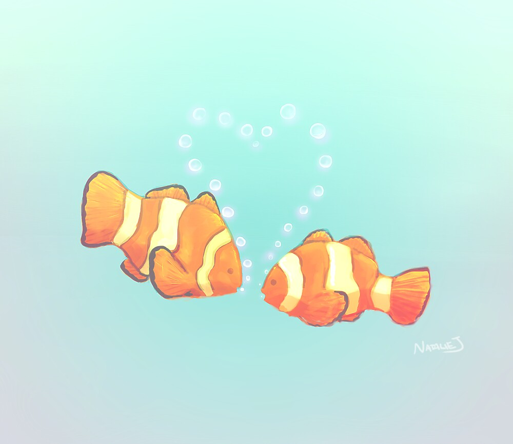 Fishie Love by natalienoodles