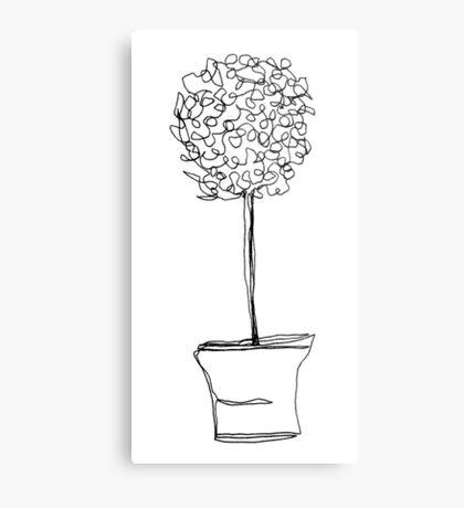 topiary  Metal Print