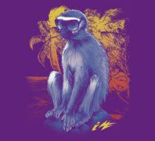 Hipster Vermet Monkey by Illestraider