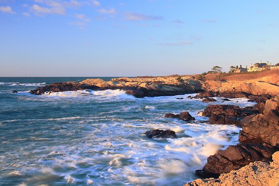 Newport Seascape by Roupen  Baker
