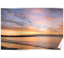 Sunrise Sky over Middletown Rhode Island Poster