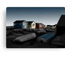 Out of Season (Mudeford) No.1 Canvas Print