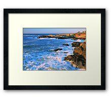 Lands End Seascape Framed Print