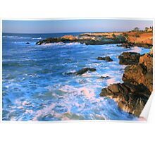 Lands End Seascape Poster