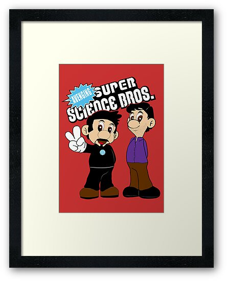 Super Science Bros. by Becky Hayes