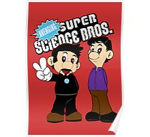 Super Science Bros. Poster