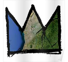 """Basquiat """"King of Adelaide Australia"""" Poster"""